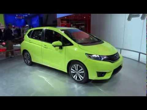 CHHonda Short - 2015 Honda Fit at the North American International Auto Show