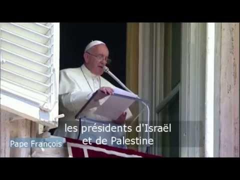 Israël/ Palestine : le pape François reçoit Peres et Abbas
