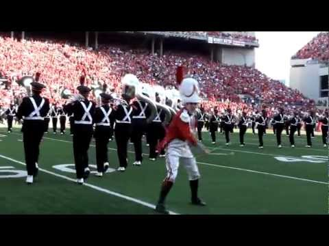 Ohio State Marching Band Drum Major - Jason Stuckert - 2011