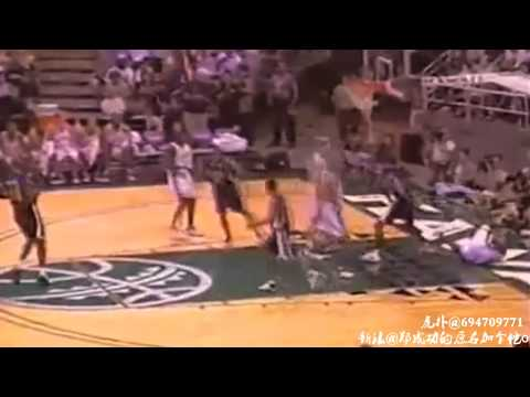 [FAT]Ray Allen top ten slam dunk in his career