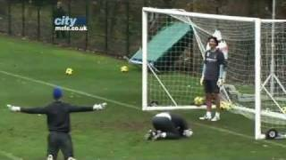 SKILLS Joe Hart Overhead Kick Goal- Inside Training At
