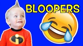 INCREDIBLES 2 in Real Life | Jack Jack Attack Bloopers & Behind the Scenes of Episode 1