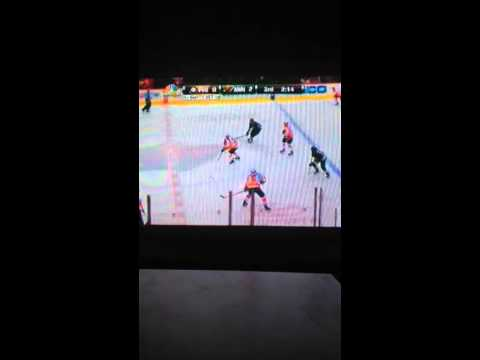 Philadelphia Flyers vs Minnesota Wild 12/2/2013 win hockey game
