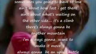 Miley Cyrus The Climb(letra)