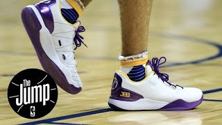 Jay-Z buys 3 pairs of Big Baller Brand sneakers | The Jump | ESPN