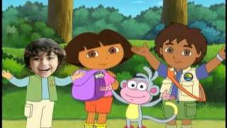 Dora, Diego And Me Photo Personalized DVD