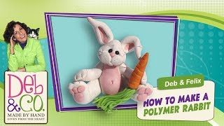 Polymer Clay Tutorial How To Make A Rabbit Or Bunny Figurine
