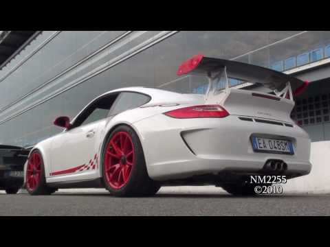 Porsche 997 GT3 RS MK2 with Tubi Style Exhaust - LOUD SOUND!