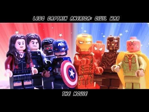Lego Captain America: Civil War Movie