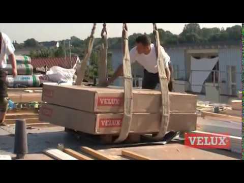 velux flachdach fenster projekt in tornesch youtube. Black Bedroom Furniture Sets. Home Design Ideas