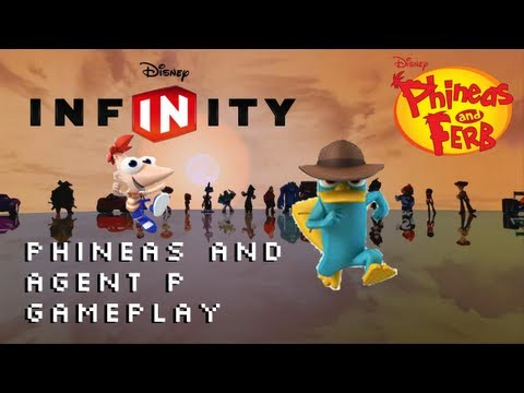 Disney Infinity Phineas and Agent P Gameplay Trailer 1080p Phineas and
