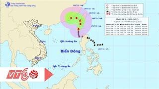 Bão số 2: Biển Đông gió giật cấp 12 | VTC