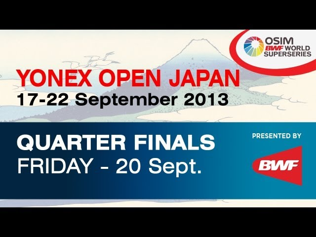 QF -- MD -- H. Hashimoto / N. Hirata vs. Chai B. / Hong W. -- 2013 Yonex Open Japan