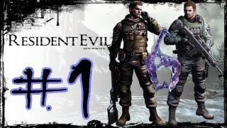 Resident Evil 6 Detonado Chris (Walkthrough) Parte 1