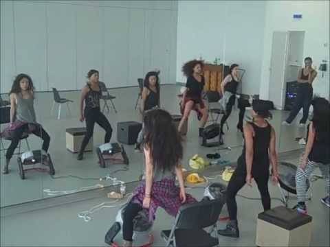 Beyonce - Dance For You (Music Video Rehearsal)