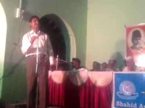 Shahzad anwar akolvi Uom-e-urdu all india mushaira
