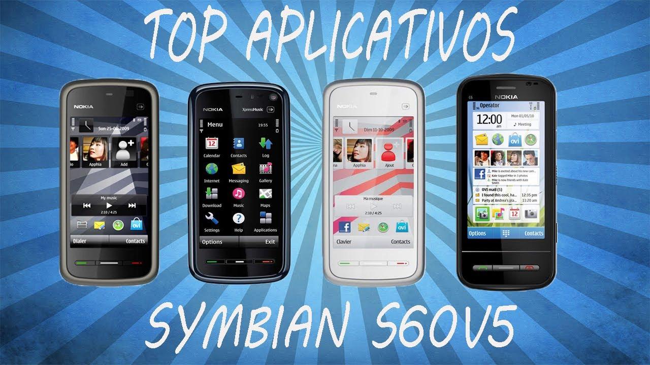 Top 10 melhores aplicativos para Symbian s60v5