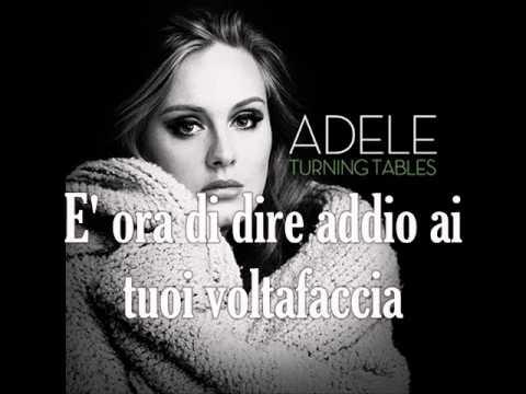 Adele turning tables traduzione youtube - Traduction turning tables adele ...