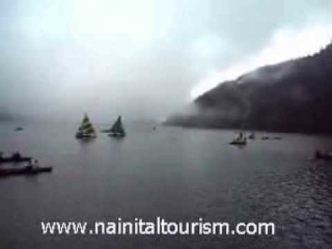 Nainital - Lake - Nainital Lake - Yatching Boating in Nainital Lake - Nainital Jheel - Tourism