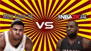 NBA 2k14 VS. NBA Live 14 Debate feat. CallMeAgent00