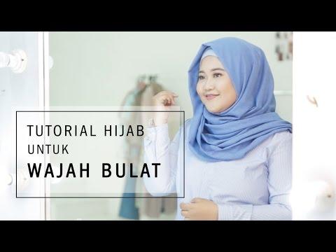 Tutorial Hijab untuk Wajah Bulat