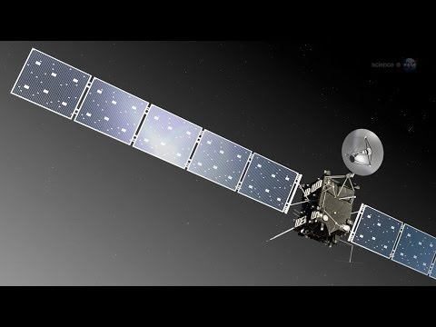 ScienceCasts: Rosetta Comet Comes Alive