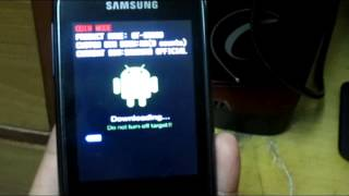 Flashing Samsung Galaxy Pocket To Stock Rom (Step By Step