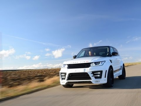 2015 LUMMA Design CLR RS Range Rover Sport - YouTube