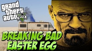 "GTA 5 NEW ""BREAKING BAD"" Easter Egg ""RV METH LAB"