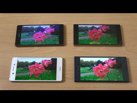 Sony Xperia XZ vs X Performance vs Z5 vs Z3 - Camera Test!