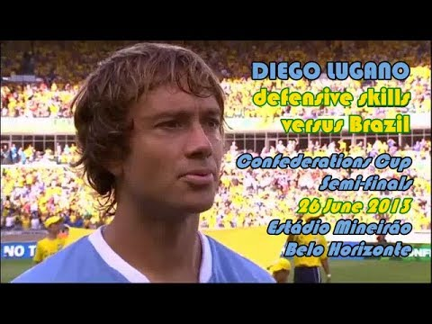 Diego Lugano's defensive skills vs Brazil 26 June 2013