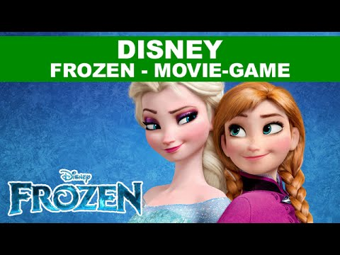 Frozen Full Game Movie 2013 - Disney Frozen Let It Go & Block Party Games Part 1 English HD 1080p