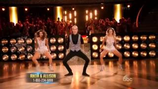 DWTS S20 Week 8: Riker Lynch & Allison Holker - JAZZ ( Trio dance )