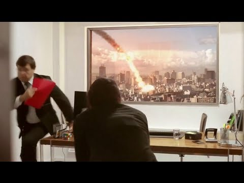 "LG Ultra HD 84"" TV Commercial (METEOR EXPLODES DURING JOB INTERVIEW)"