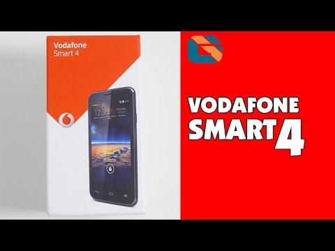 Vodafone Smart 4 Smartphone Unboxing & First Look