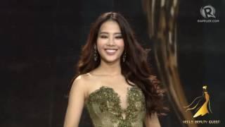 HD Video: Miss Earth 2016 Top 8 Finalist, Vietnam - Nguyễn Thị Lệ Nam Em
