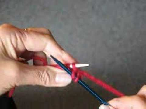 Knitting Stitch By Judy : HOW TO KNIT: THE KNIT STITCH VIDEO - YouTube