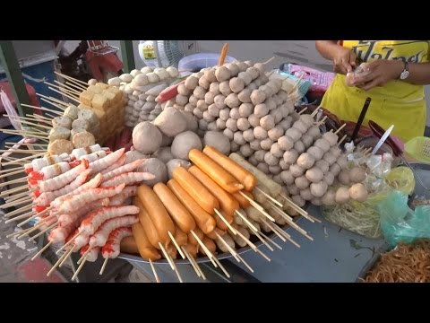 LAOS FOOD, STREET FOOD IN LAOS, ASIAN STREET FOOD, LAOS 2016, VIENTIANE FOOD