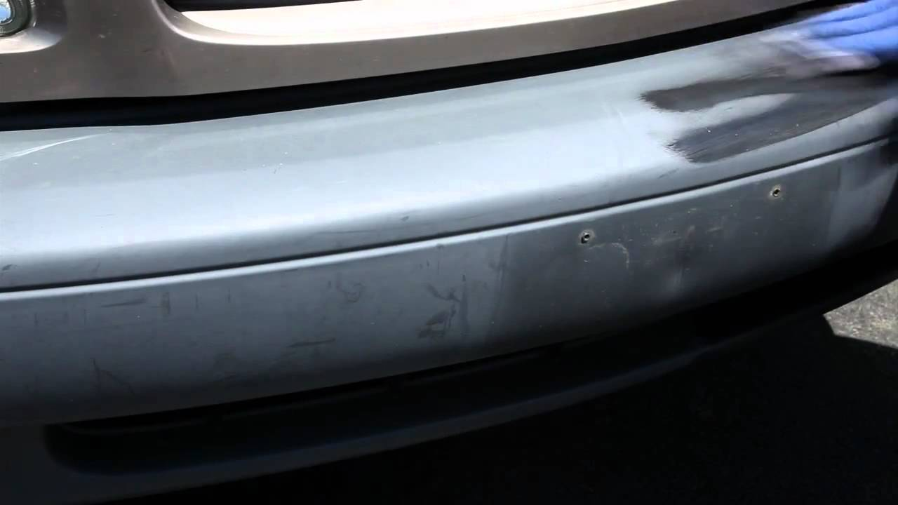 how to restore chrome finish