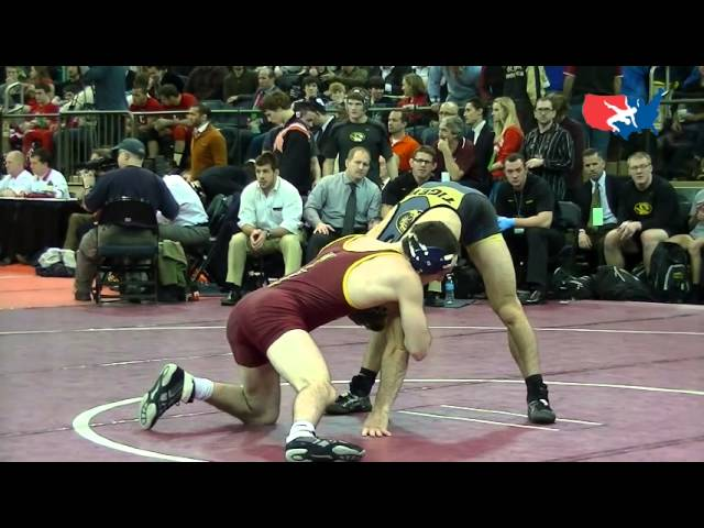 Rappo (BL) dec. Hucke (MO), 141 lbs. at 2012 Grapple at the Garden