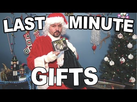 Funny Christmas Song - Last Minute Gifts