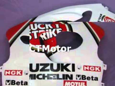 CTMotor 1997 1998 1999 SUZUKI GSXR 600 750 FAIRING CBA