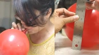 How To Measure Vital Capacity Using A Balloon