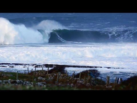 Chasing Big Wave BOMBS at Mullaghmore