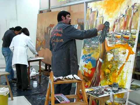 Pintores en Acción