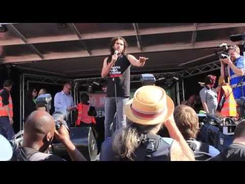 Russell Brand's full speech at the People's Assembly demonstration