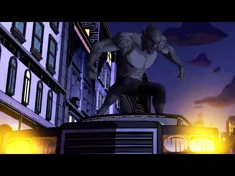 The Wolf Among Us - Car Chase Scene