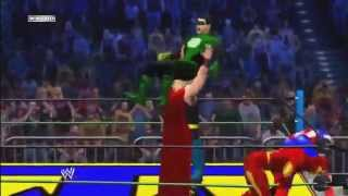 WWE 12 The Justice League Vs The Avengers [Movie Promo
