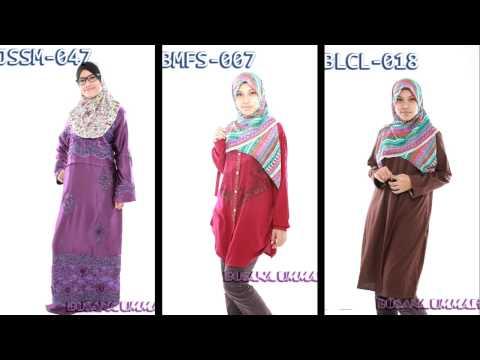 Jubah, blouse - Koleksi Terbaru Busana Ummah Bulan Oktober