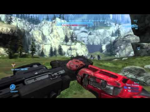 Halo Reach Quick Scope Montage